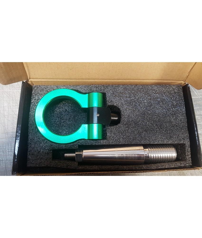 Крюк буксировочный зеленый