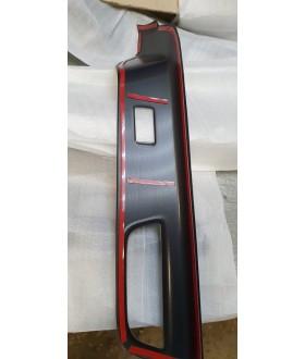 Накладки на ручки дверей (Аквапринт-Карбон)
