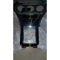 Консоль (Evolution) CVT черный лак хром окантовка