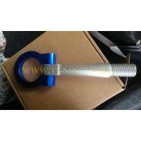 Крюк буксировочный синий