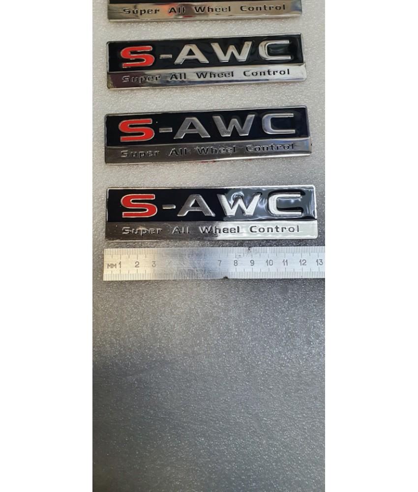 Шильдик для OUTLANDER S-AWC