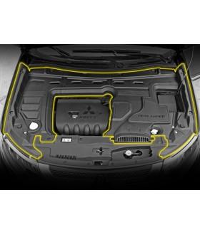 Крышка подкапотная для Outlander 3 двигатели 2,0 и 2,4