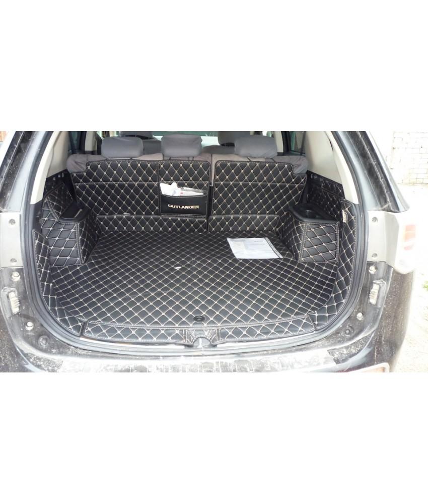 Ковры защитные в багажник, для Outlander 3 с органайзером (3rd generation) 2012-2021