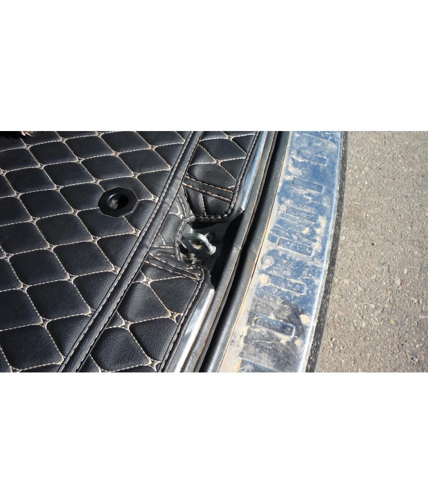 Ковры защитные в багажник, для Outlander 3 для машин без органайзера  (3rd generation) 2012-2021