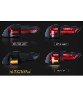 Задние фонари в стиле AUDI на Pajero Sport (2nd generation)